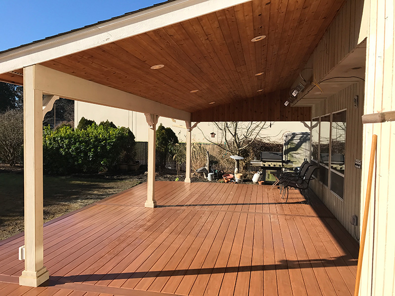 Enjoy Your Deck Year-round w/ a Cover | Littles Construction on Covered Back Deck Ideas id=76731